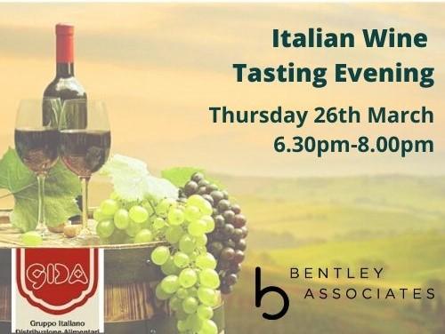 Italian Wine Tasting Logo